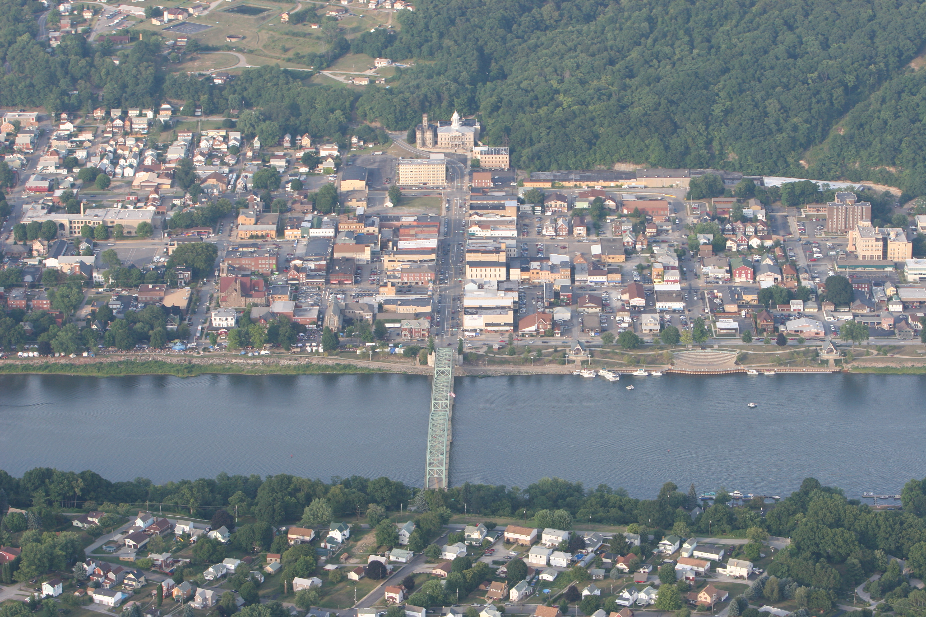 Kittanning From Above